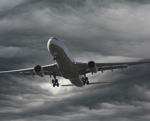 aerospace coatings protecting an aircraft